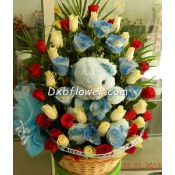Baby Boy bouquets-2 - by Dxb Flower