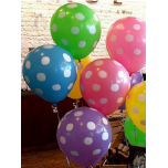 Mixed Dotted Balloons