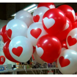 Lover-Heart Balloons Bouquets