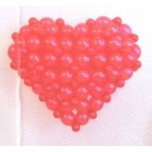 Valentine Heart Balloons Bouquets
