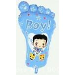 Baby-boy-Foot Print Balloons