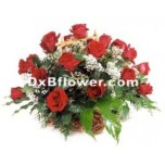 Star Roses Basket
